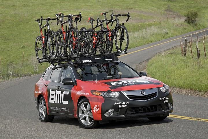 Acura Is New North American Vehicle Sponsor Road Bike