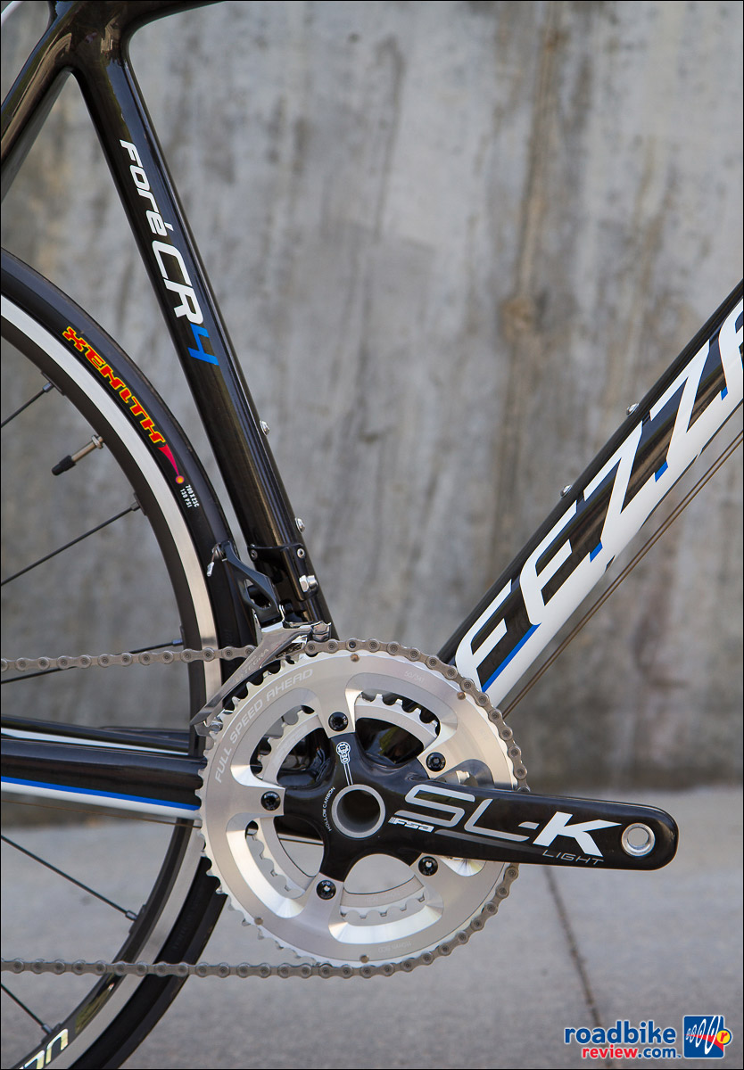Fezzari Fore CR4 - FSA SL-K cranks