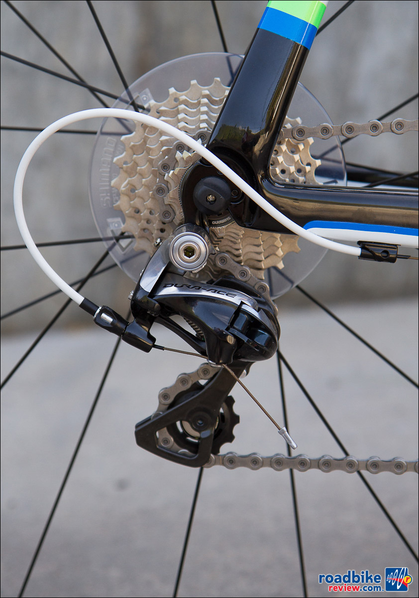 Fezzari Fore CR4 - Dura-Ace rear derailleur