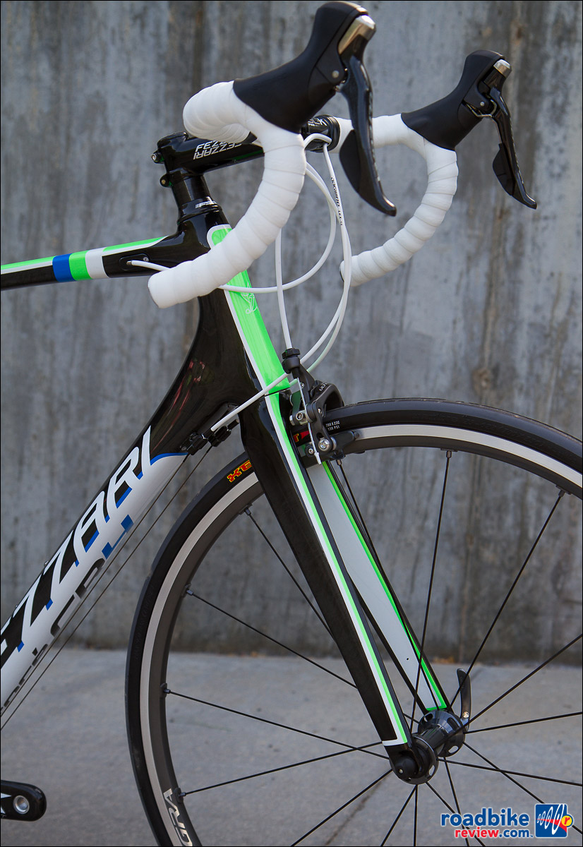 Fezzari Fore CR4 - carbon fork, tapered head tube