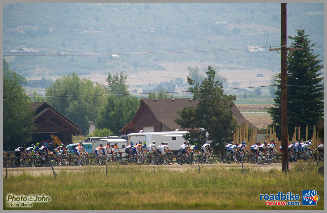 Tour of Utah - Near Peoa, Utah