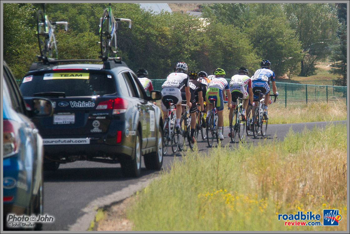 Tour of Utah Stage 6 Breakaway