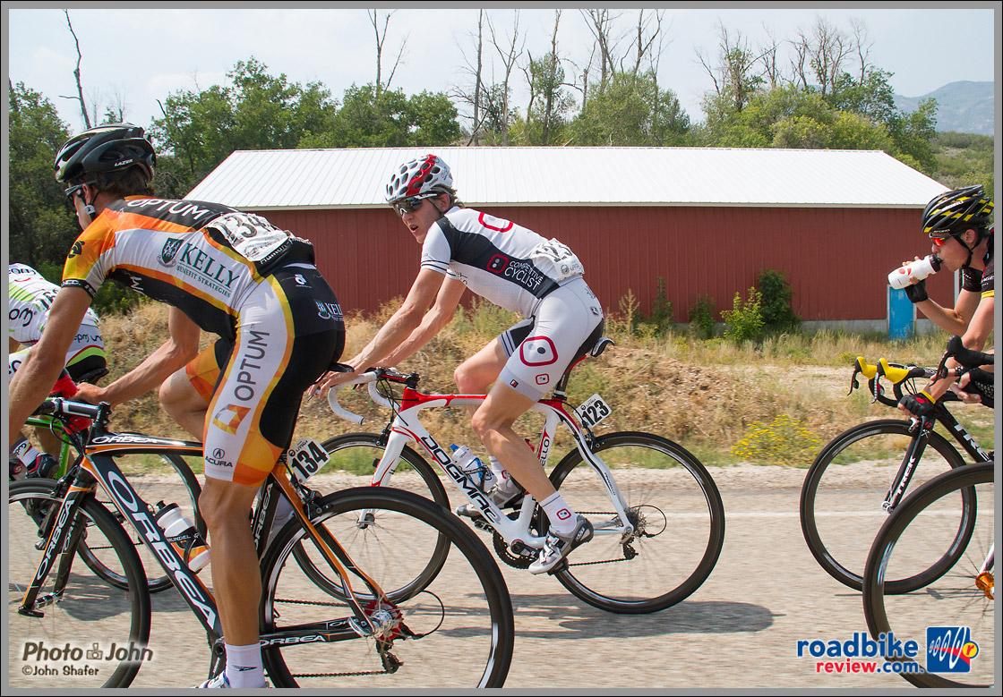 Thomas Rabou - Tour of Utah Stage 6 Breakaway - Midway, Utah