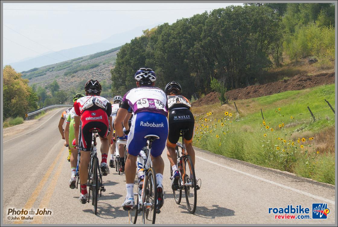 Tour of Utah Stage 6 Breakaway - Midway, Utah