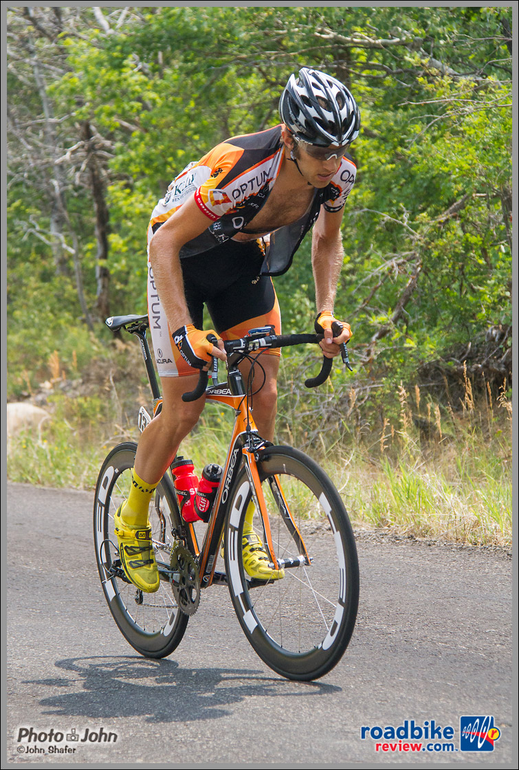 Reid Mumford of Team Optum p/b Kelly Benefit Strategies - Tour of Utah Stage 6 Final Climb