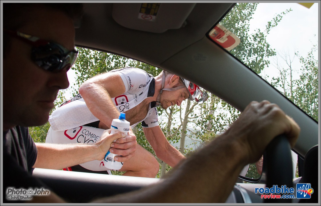 Mike Olheiser - Tour of Utah - Competitive Cyclist Team Car