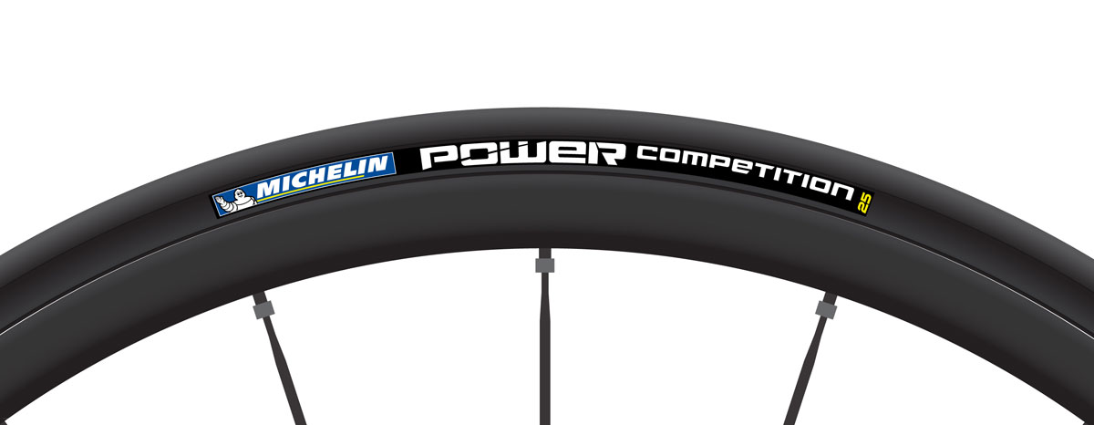 According to Michelin the new Power Competition tires provides a 10-watt power gain compared with the Michelin Pro4 Service Course, which is equivalent to 85 seconds when traveling 35kph for 40km.