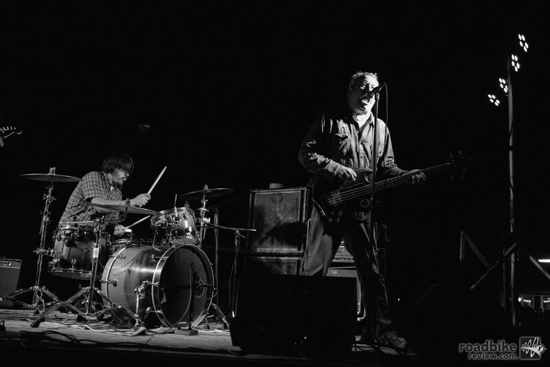 Legendary bassist Mike Watt and his Missingmen headlined a night of live music. Photo by Dain Zaffke