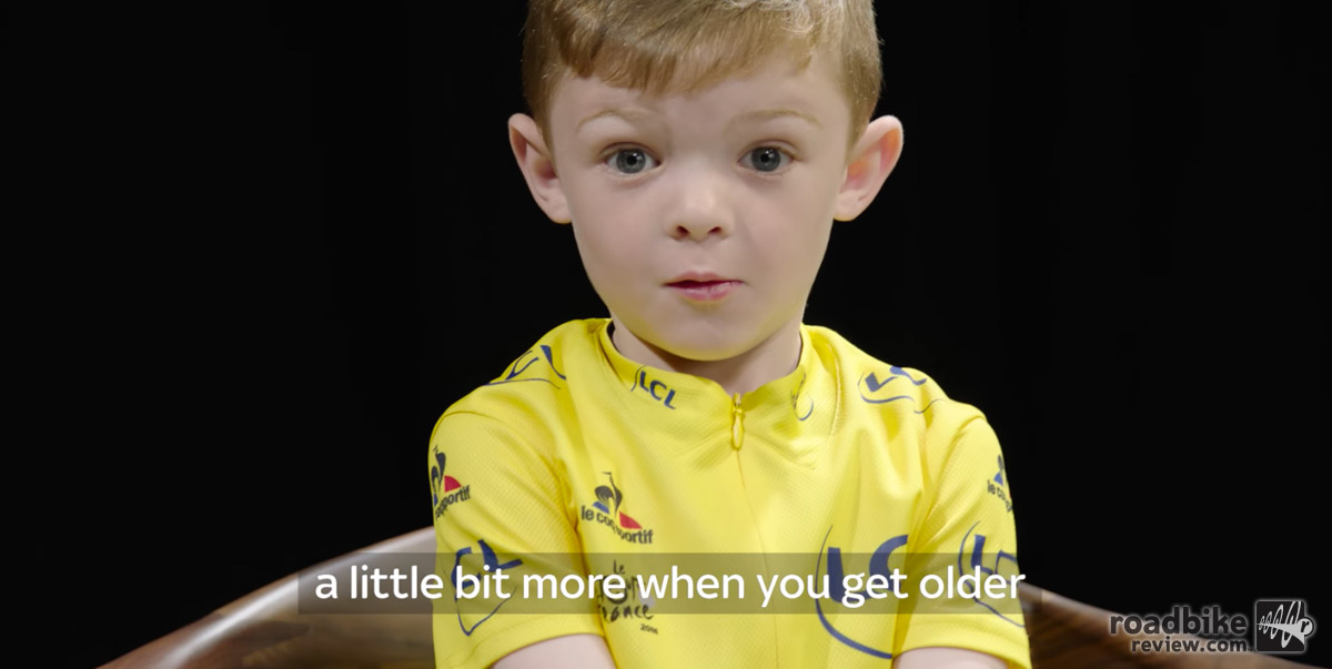 Mini Chris Froome
