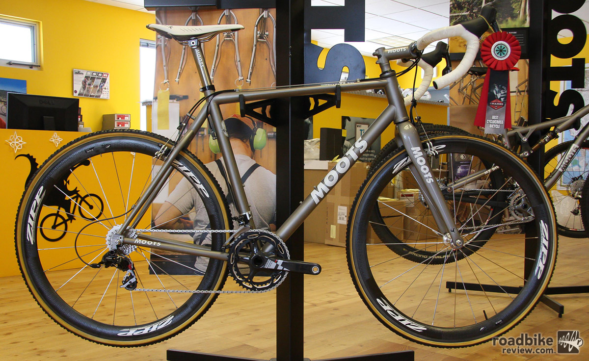 Moots CX Factory Tour