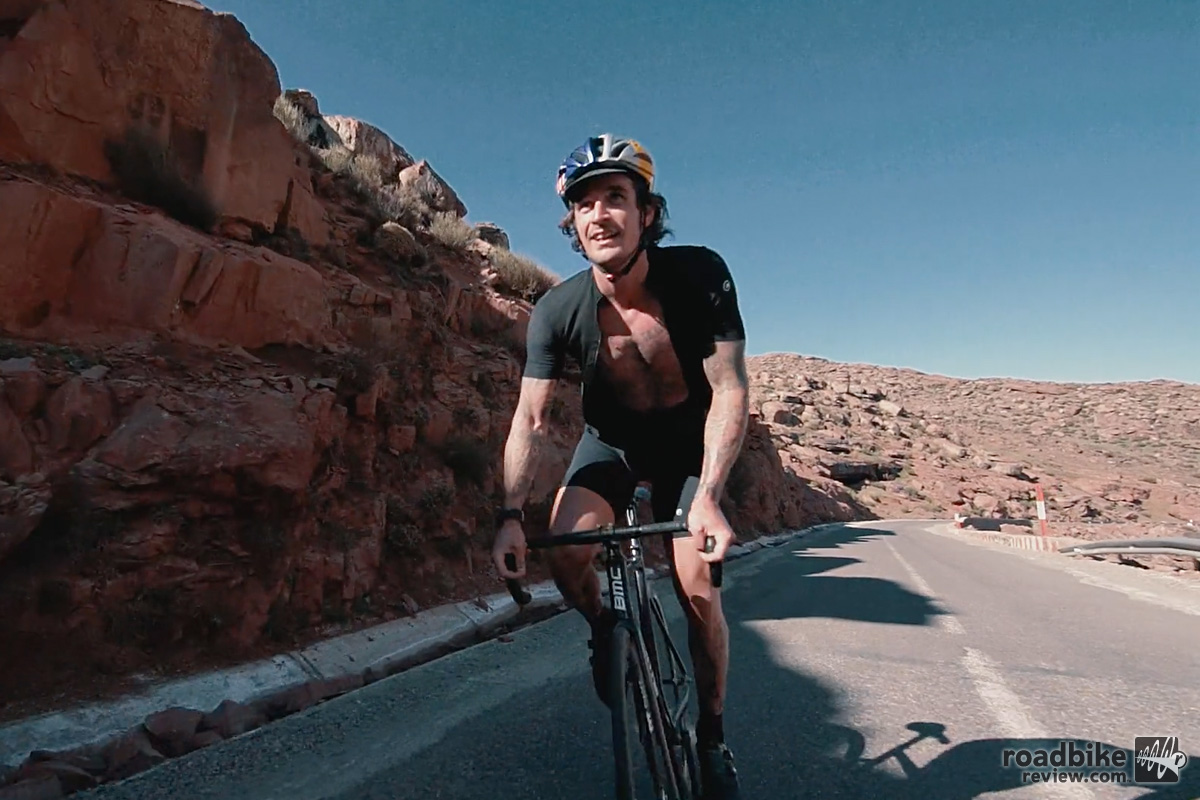 Riding in Morocco with Patrick Seabase