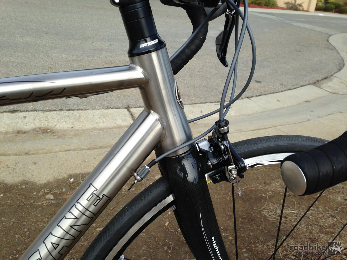 Motobecane Le Champion Team Ti Head Tube