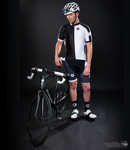 Traditional black/white, which would work with many of the bikes currently on the market.