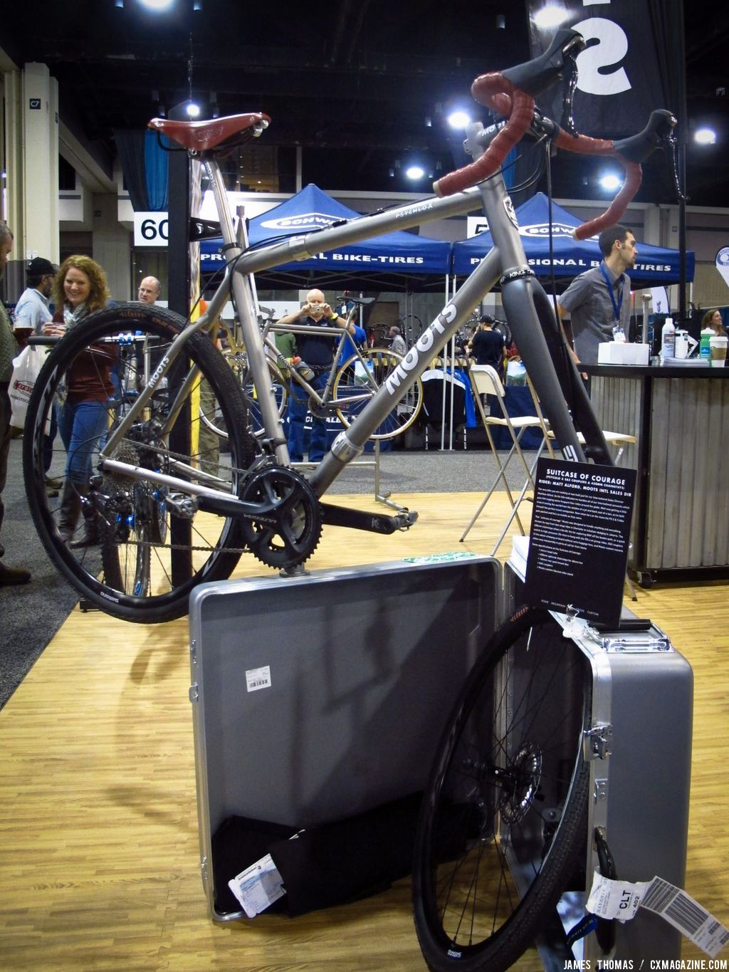 "Moots ""Suitcase of Courage"""