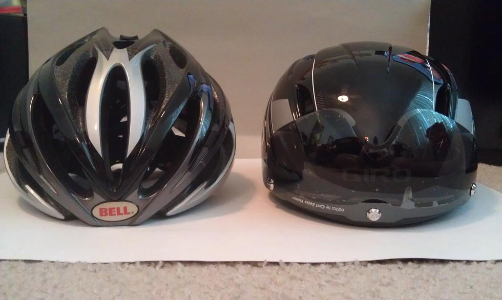 Road Bike Helmet With Attached Visor Page 2
