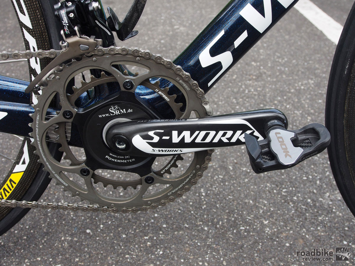 Vincenzo Nibali's Specialized S-Works (Shark) Tarmac