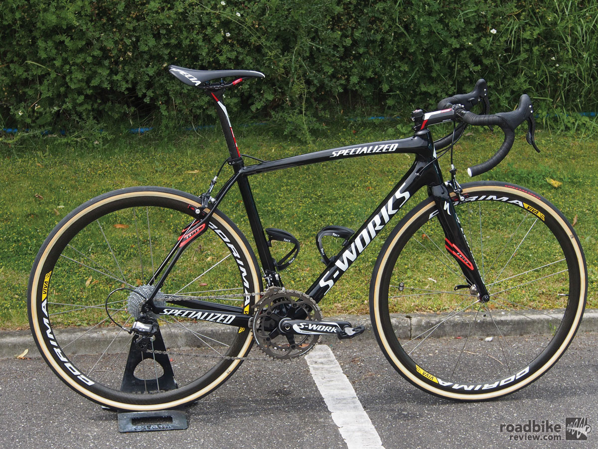 Vincenzo Nibali's Specialized S-Works Roubaix