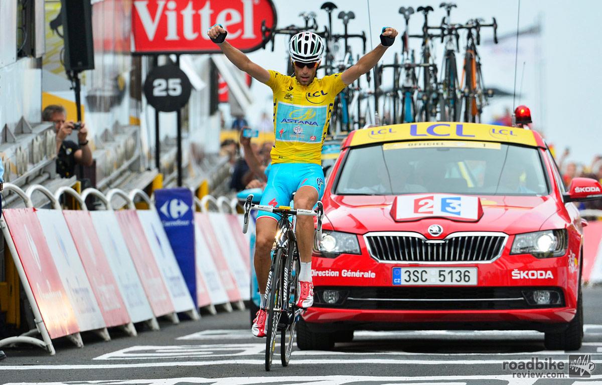 Vincenzo Nibali Stage 18