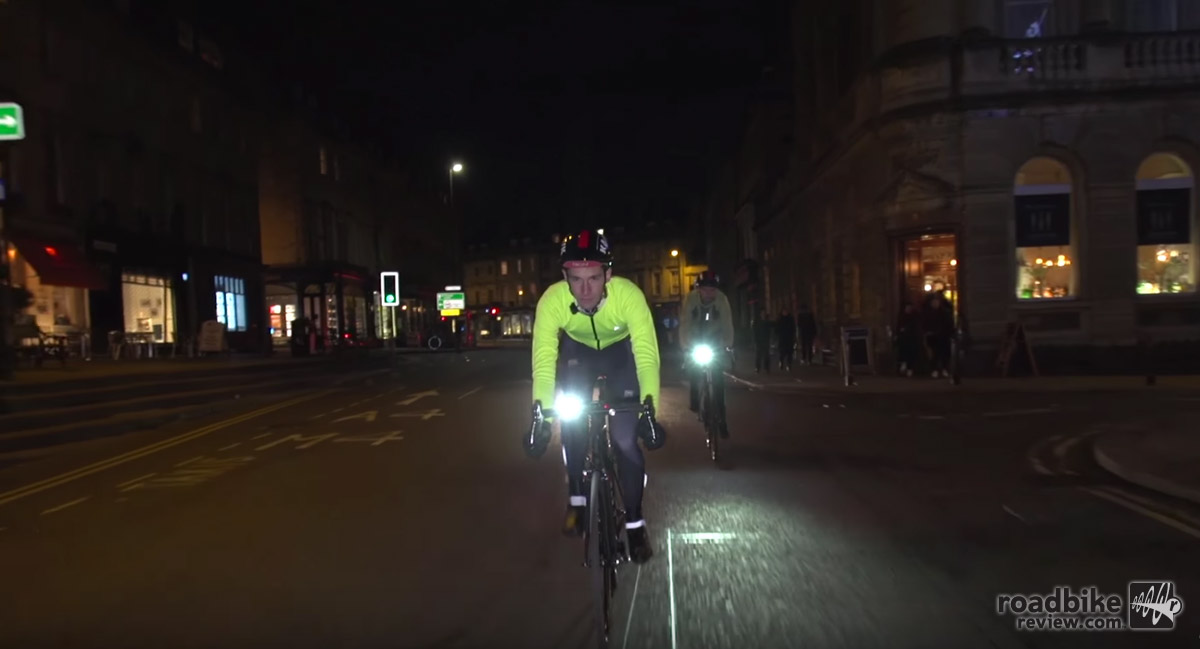 Riding at night can reward the rider with a new perspective on old roads or trails.