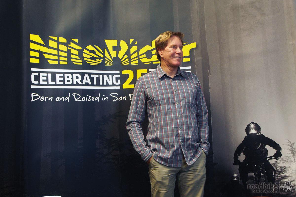 NiteRider CEO Tom Carroll