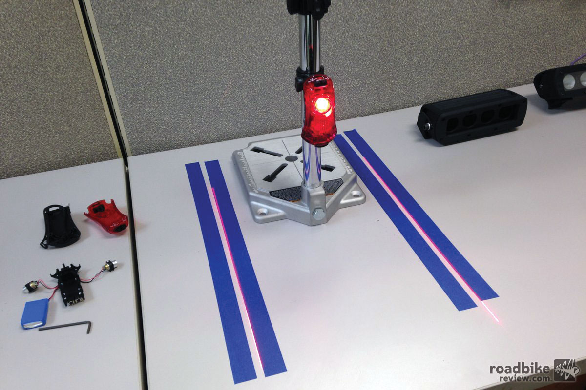 NiteRider Light with Side Lasers