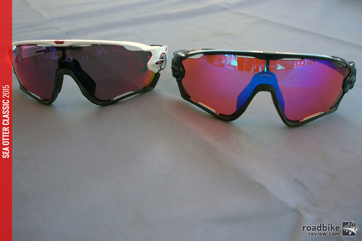 47601dc131 Sea Otter: Oakley Jawbreaker sunglasses for road and MTB | Road Bike ...