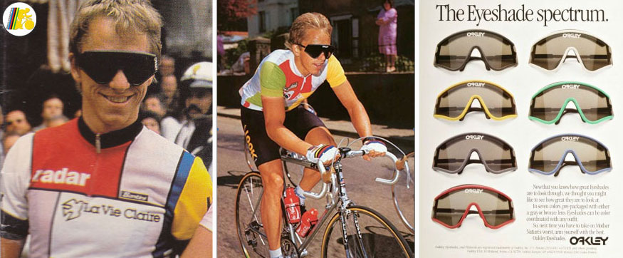 It all started with Greg LeMond and those Eyeshades.