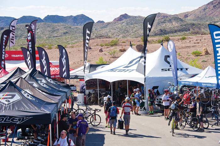 Interbike Dirt Demo day 1