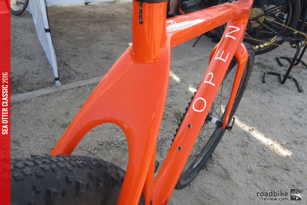 Frame and fork retail for $2900. It's available in S, M, L and XL.