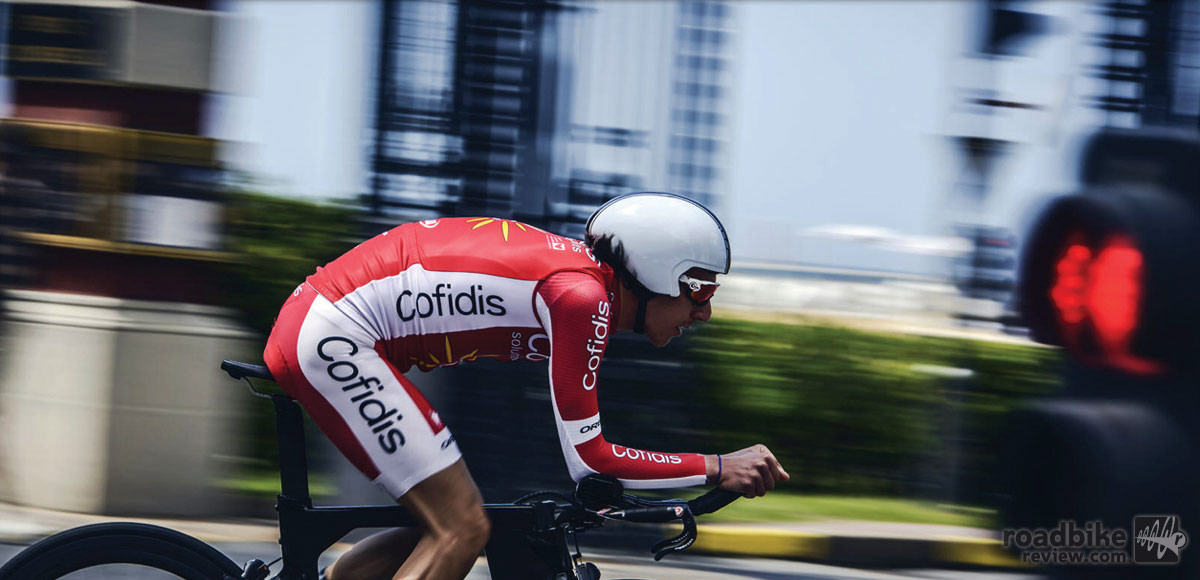 Home country squad Team Cofidis is riding the new time trial bike at the Tour de France.