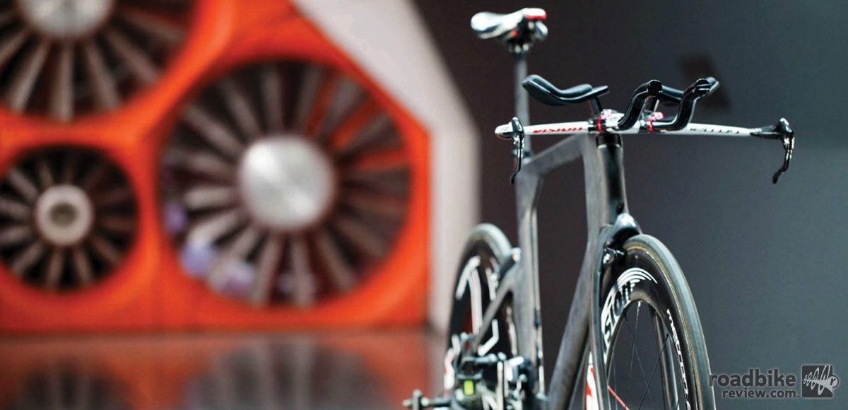 Orbea worked directly with specialists at Mondragon University in the Basque Country to analyze and test aerodynamic concepts.