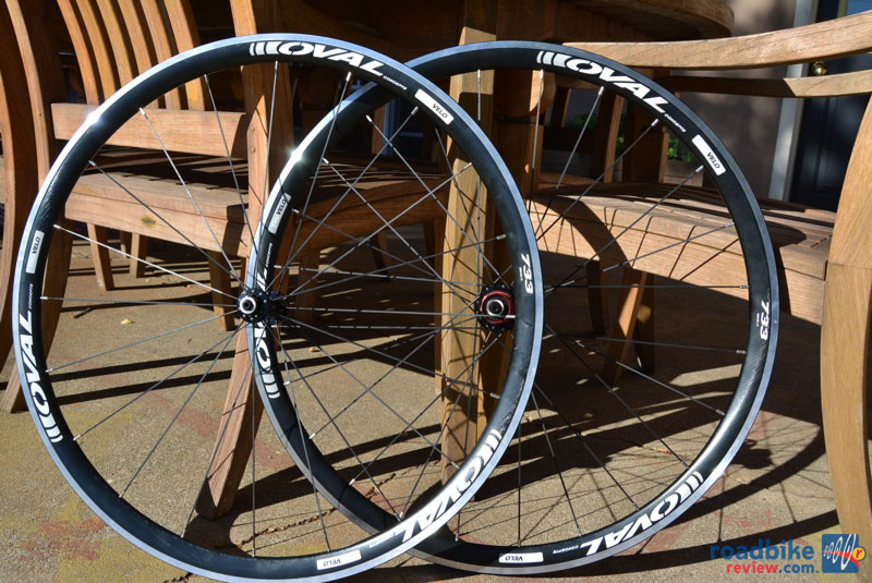 Oval 733 Clincher Wheelset
