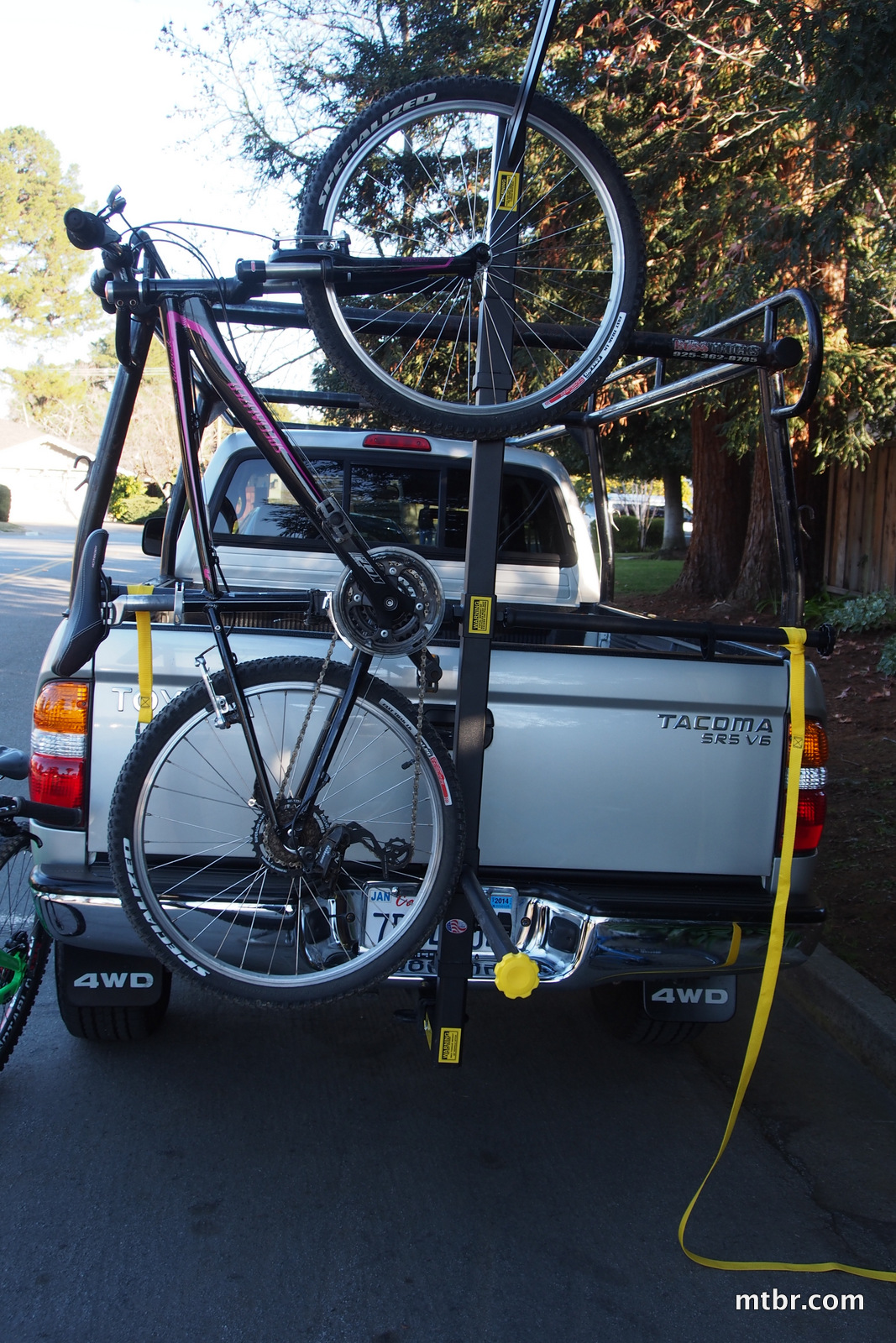 UpRight Designs Totem Pole Bike Rack