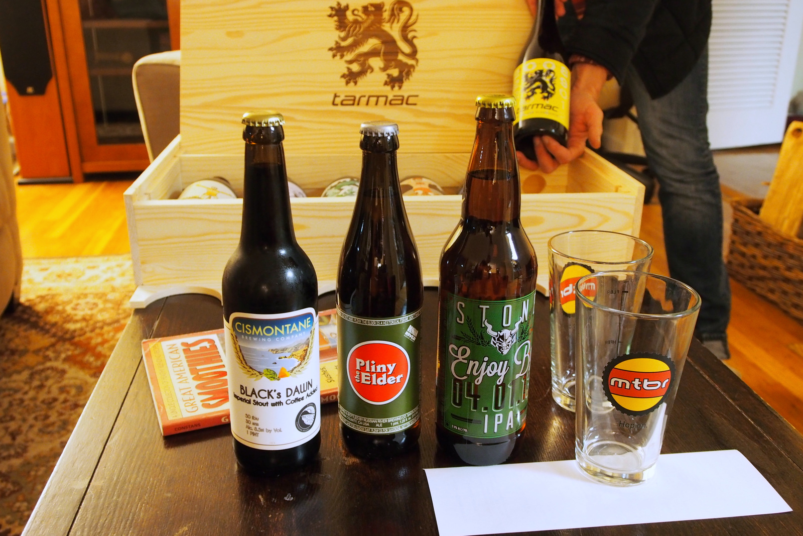 Cismontane, Pliny the Elder and Stone Enjoy By