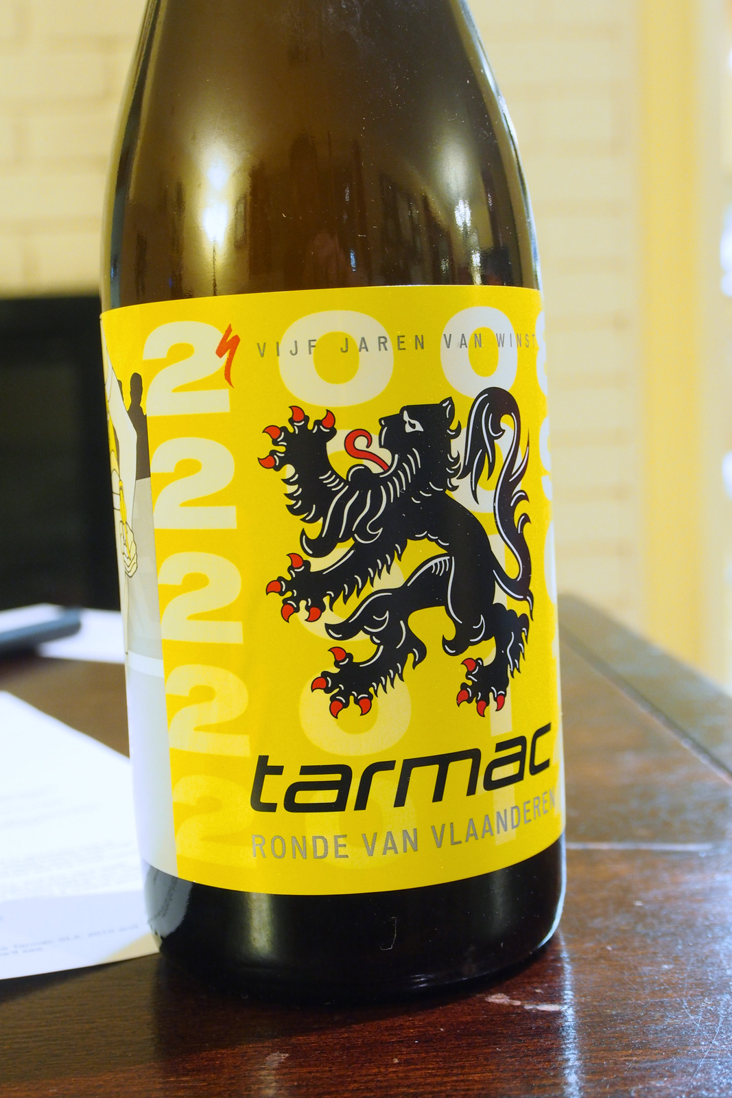 Tour of Flanders Specialized Belgian Beer Set last bottle