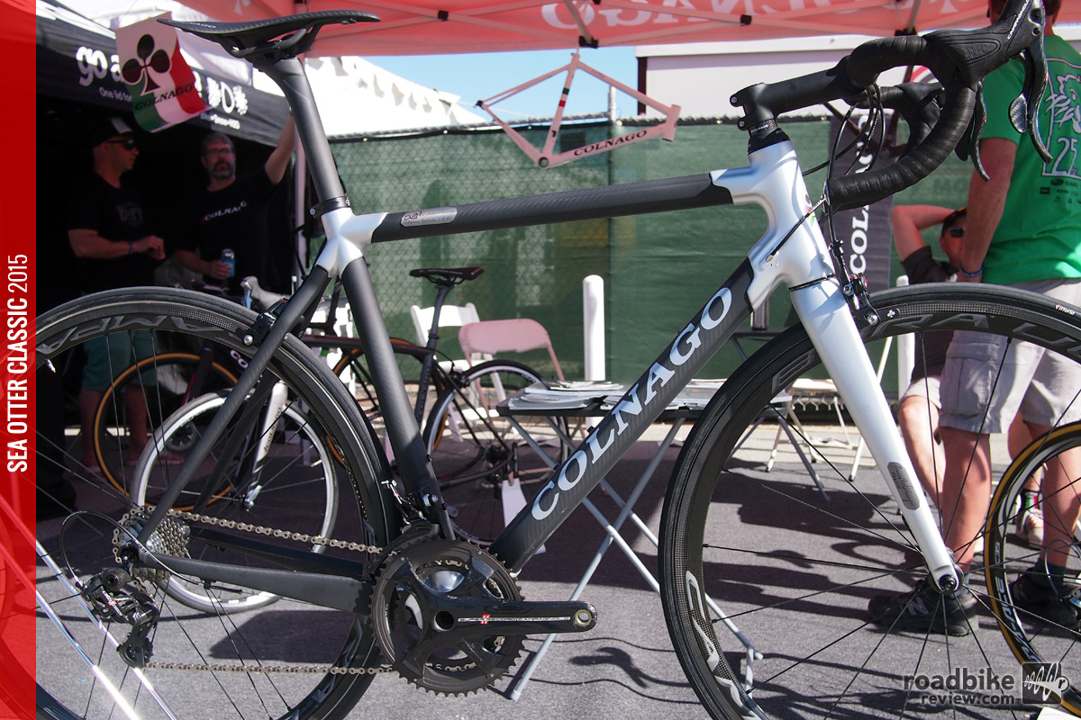 Colnago's C60 Anniversary Edition was on display at Sea Otter.