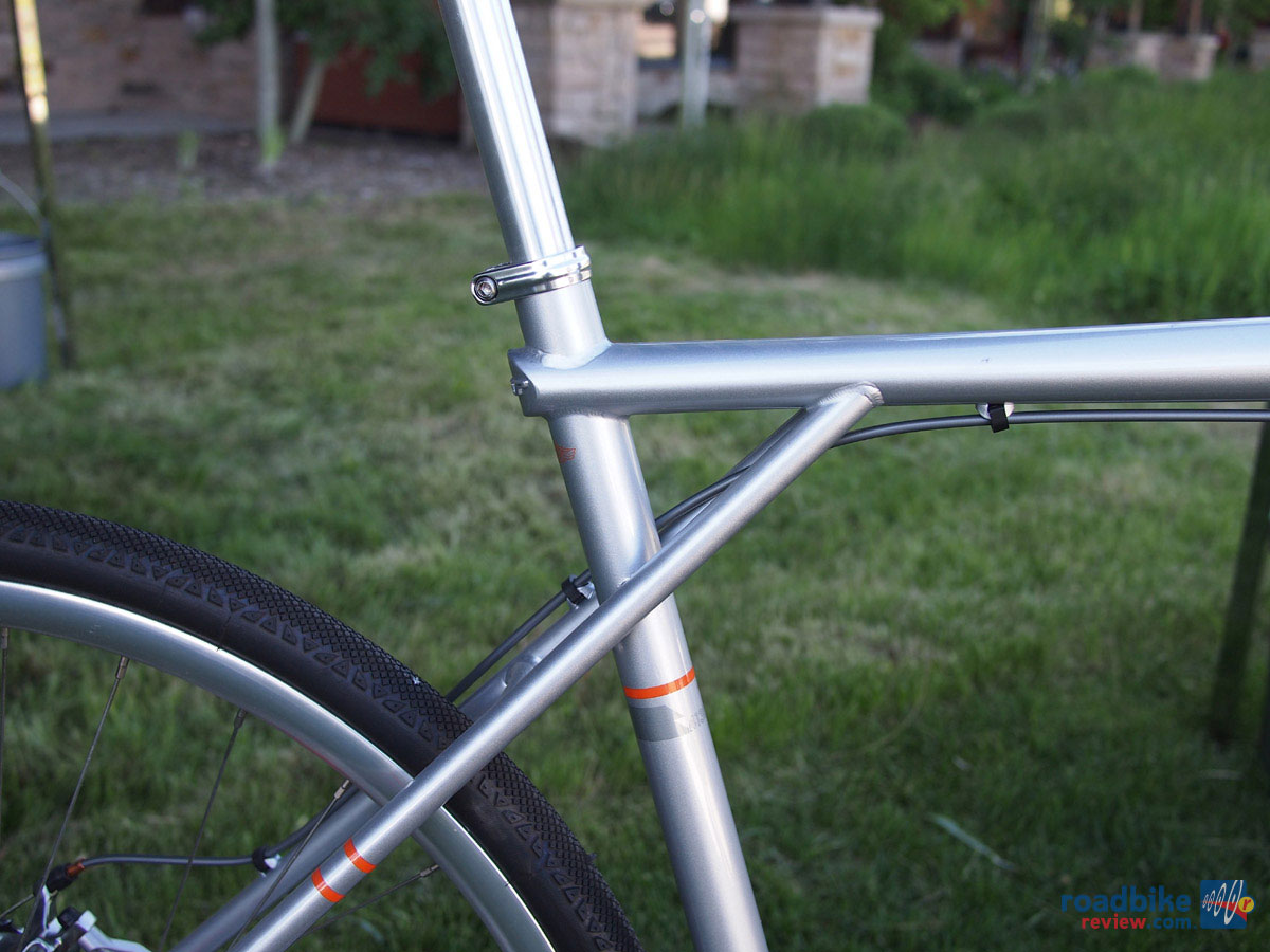 GT Corsa Disc Cyclocross - triple triangle frame