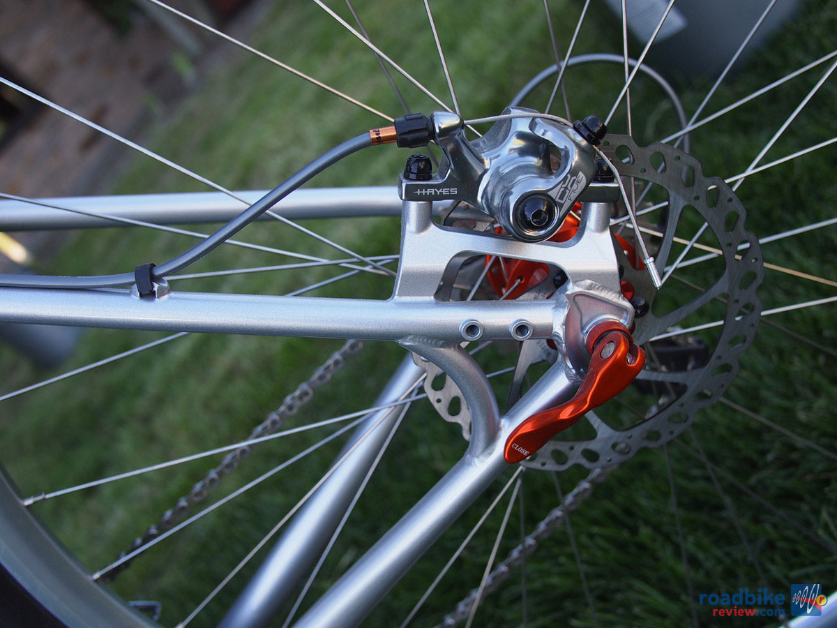 GT Corsa Disc Cyclocross - post mount disc brakes