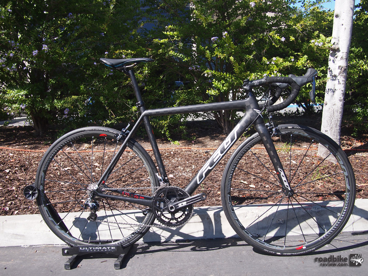 Felt's Thomas Skujins won a stage of the Tour of California this year on his Felt F series.