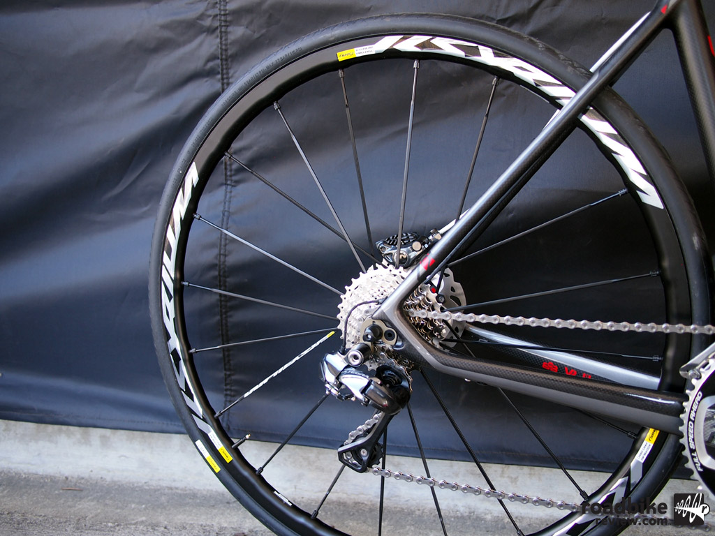 Mavic disc wheel
