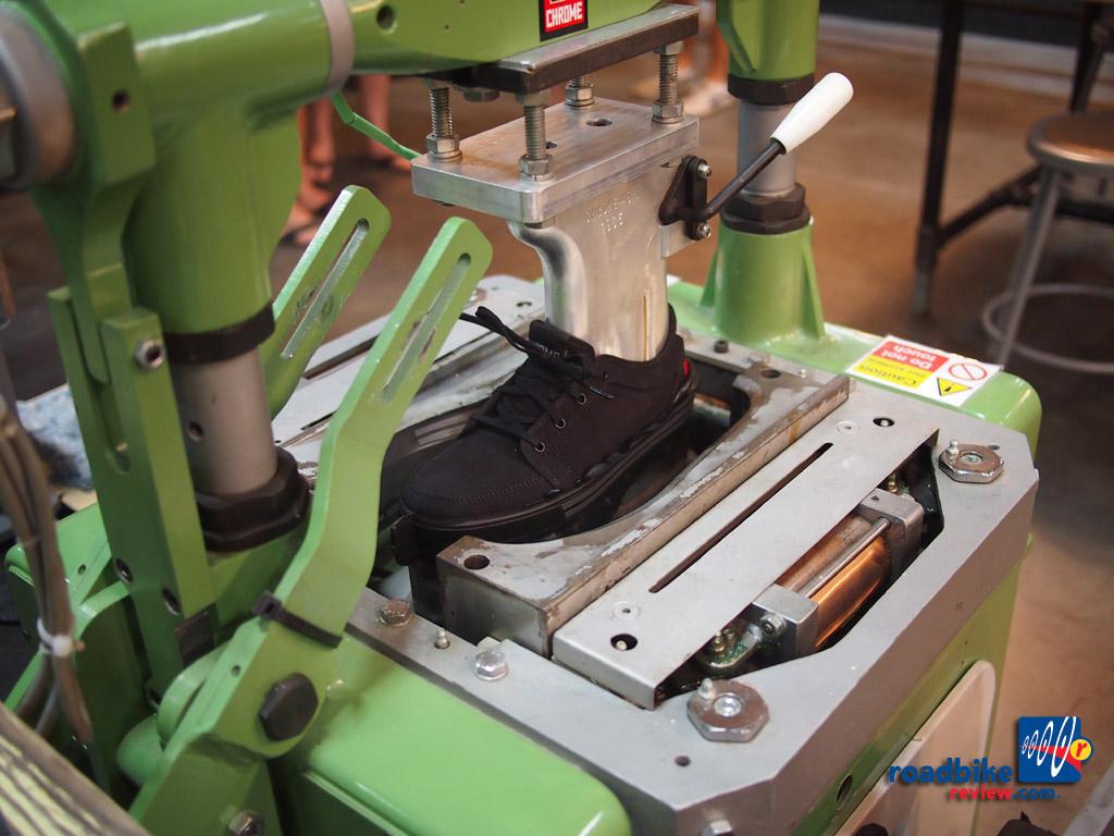 Chrome - war era boot maker