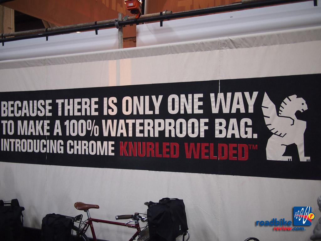 Chrome - knurled welded