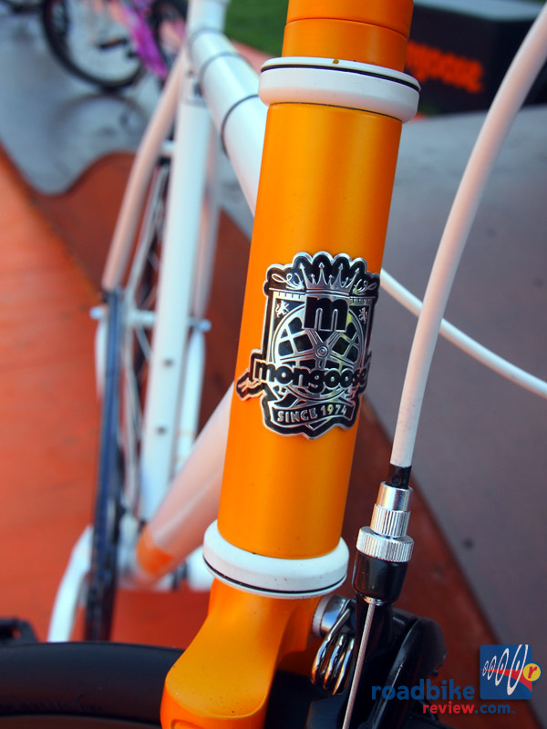 Mongoose Maurice - head badge