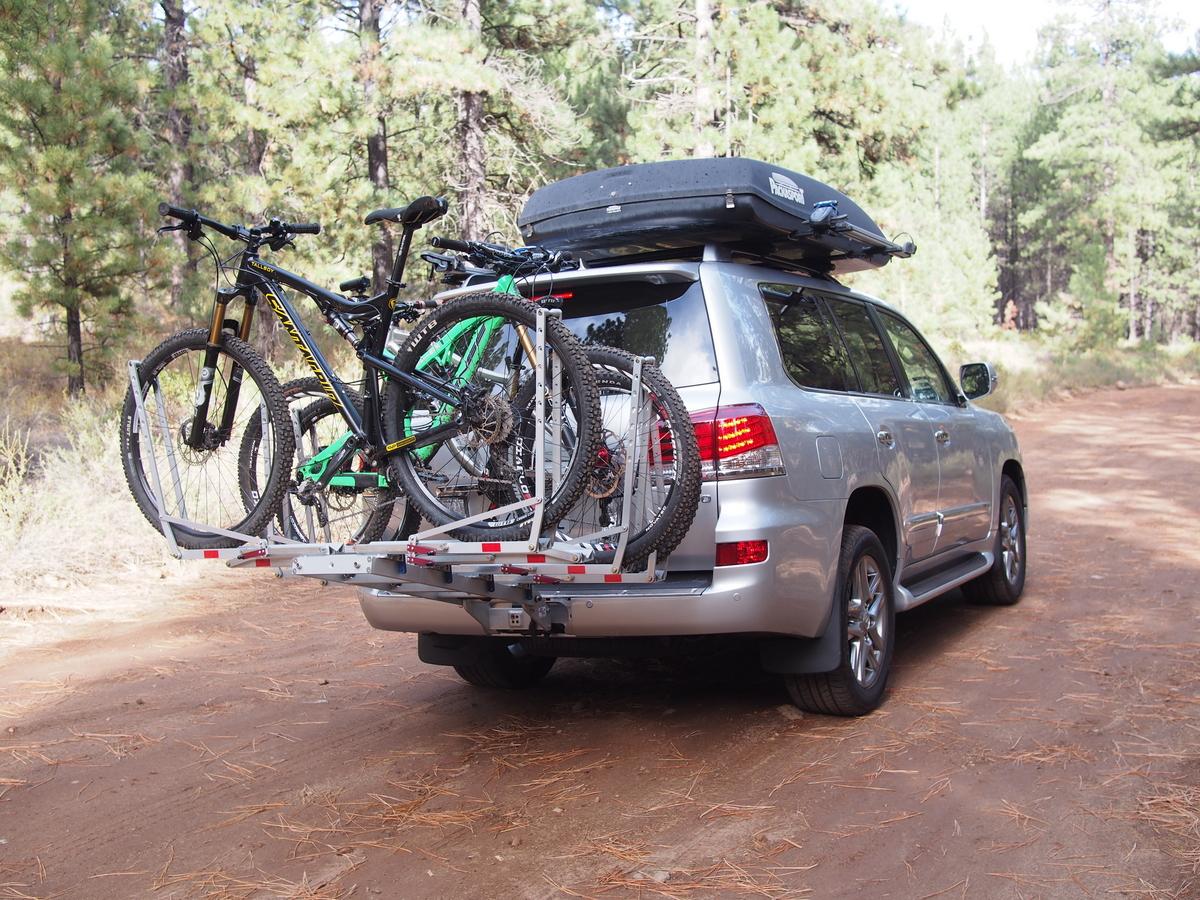 1up Usa Bike Rack On Lexus