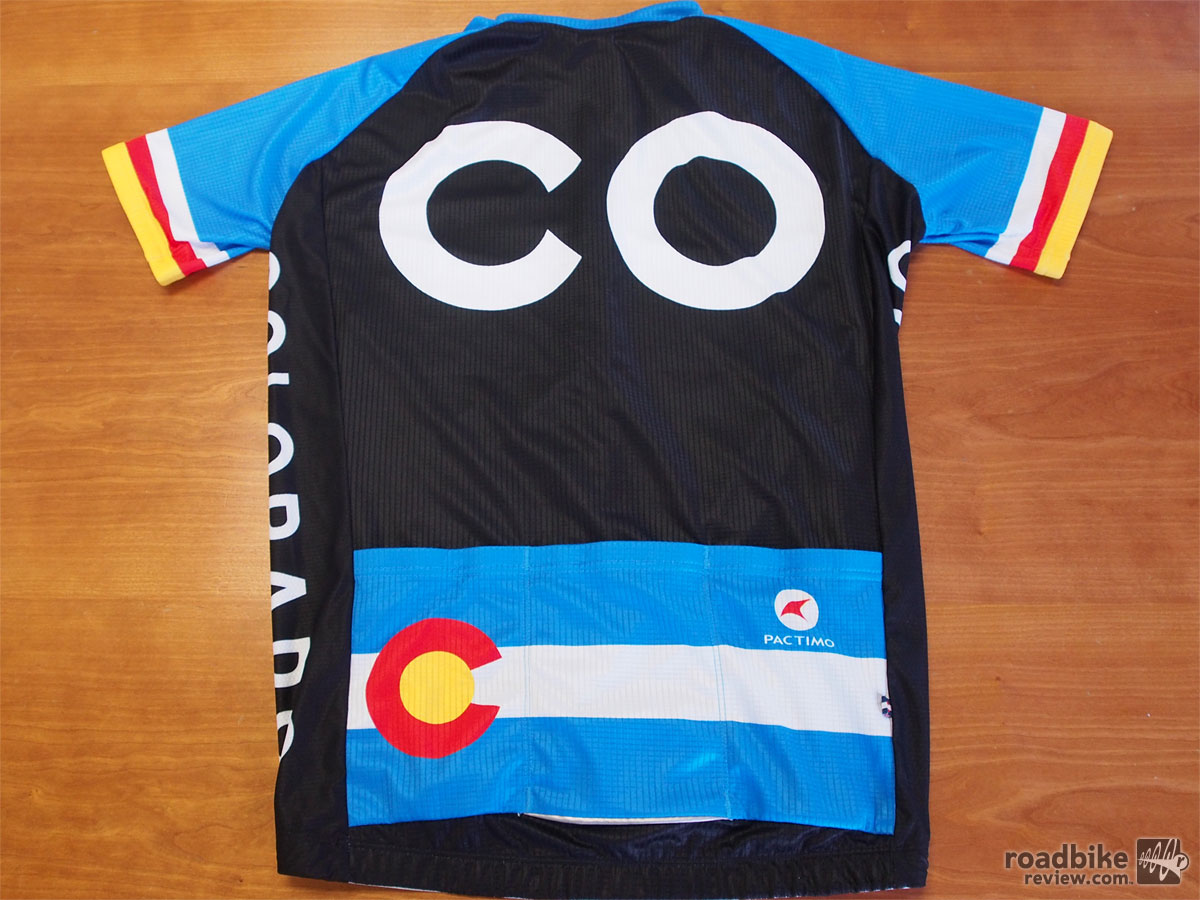 Pactimo Colorado Jersey - Back