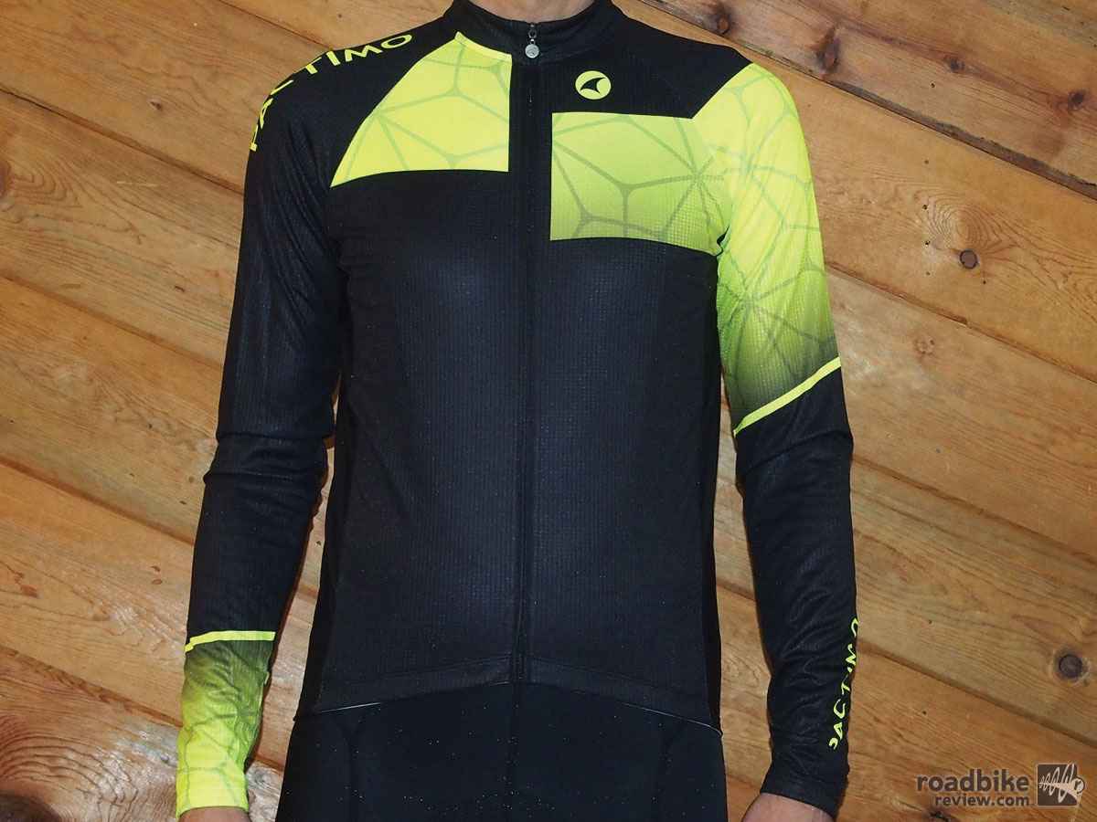 The new Ascent LS Jersey is easy to spot.