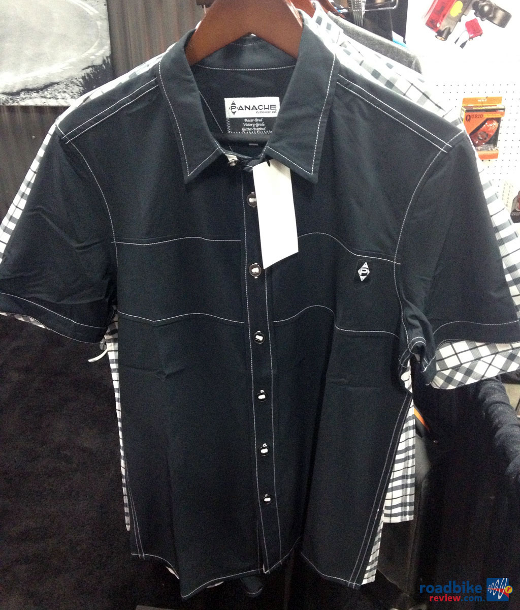 Panache Move Button Up Black