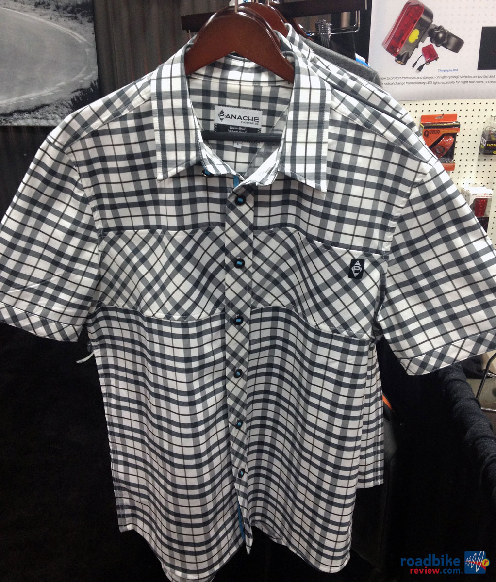 Panache Move Button Up Plaid