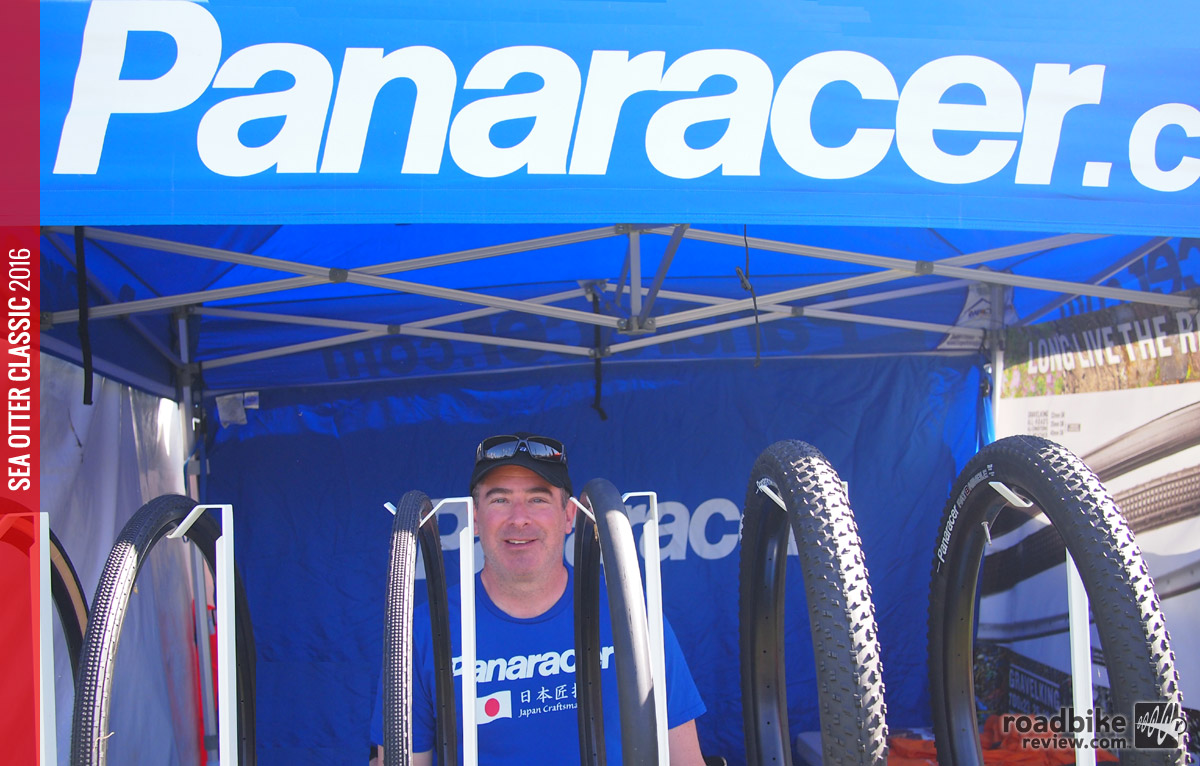 Panaracer Brand Manager Jeff Zell is one of the nicest guys in the business! New tires for 2016.