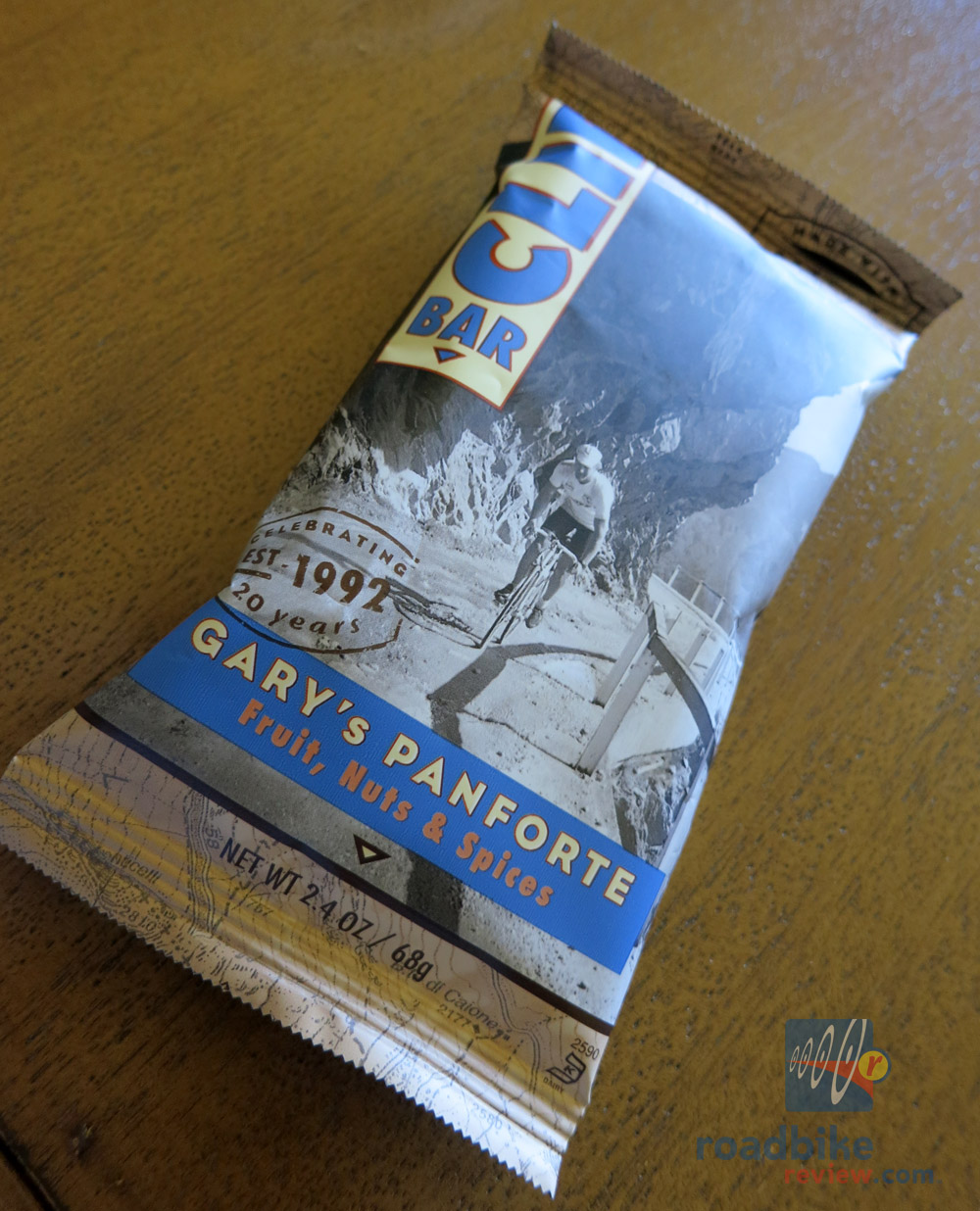 Clif Bar 20th Anniversary Panforte Bar